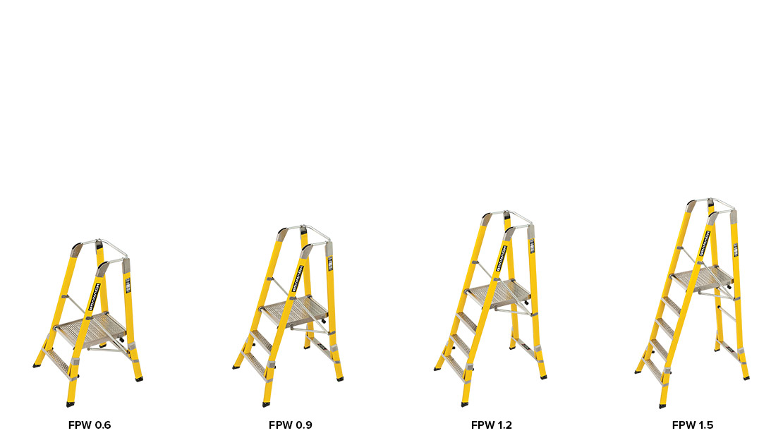 WorkMaster 550mm Step Platform models 1